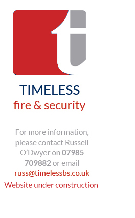 TIMELESS fire and security